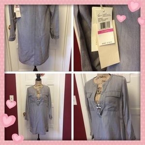 Nwt pretty gray tunic